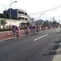 東京国体ロードレースの写真