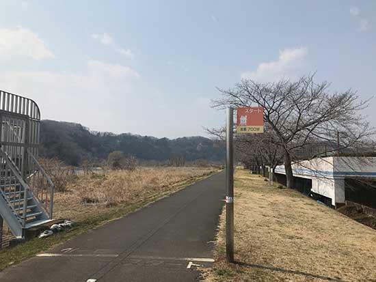 羽村阿蘇神社までの道
