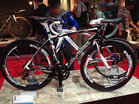 サイクルモード2013 BOMAブースの写真
