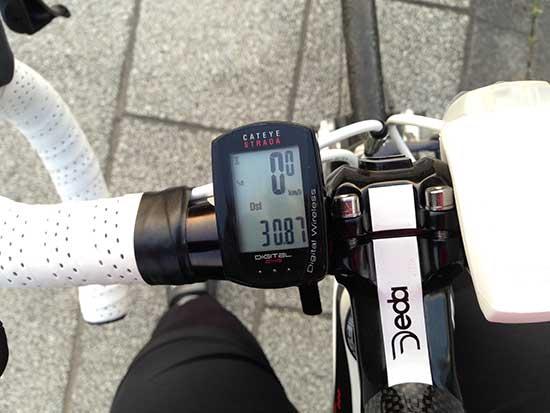 BOMA FENTEで多摩川サイクリングロードを30km走った証拠写真
