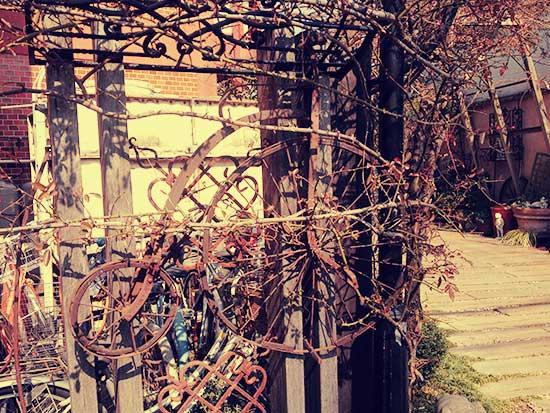 立川のガーデン&クラフツカフェの外観写真